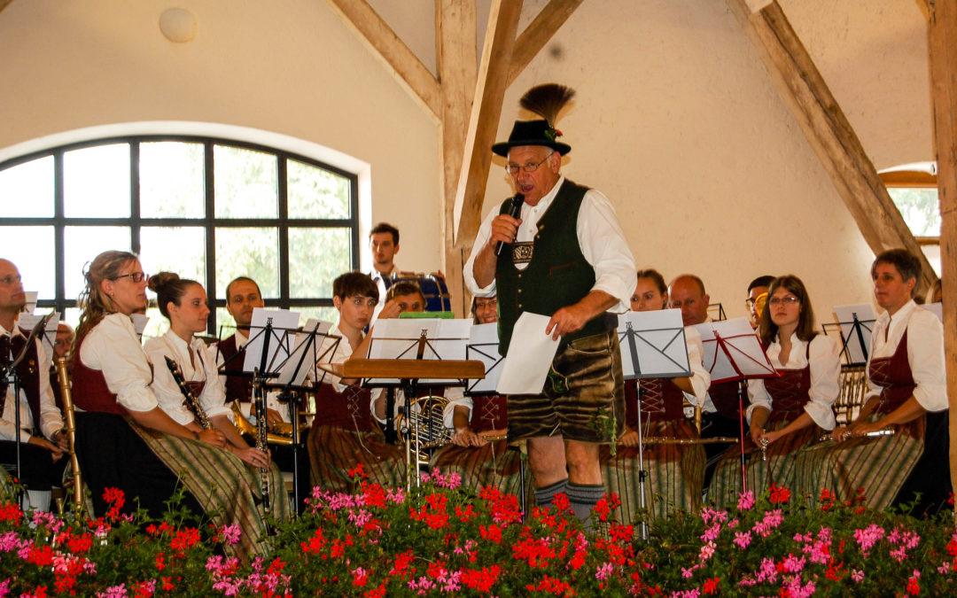 Der Musikverein in Gmund am Tegernsee