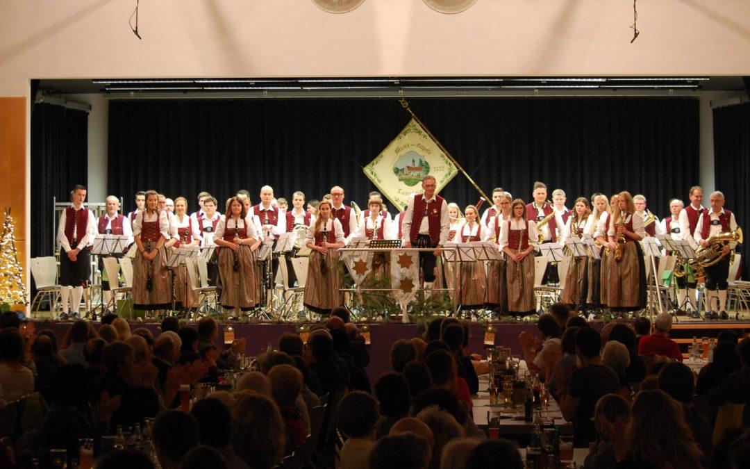 Ein gelungener Konzertabend beim Musikverein Tannheim e.V.