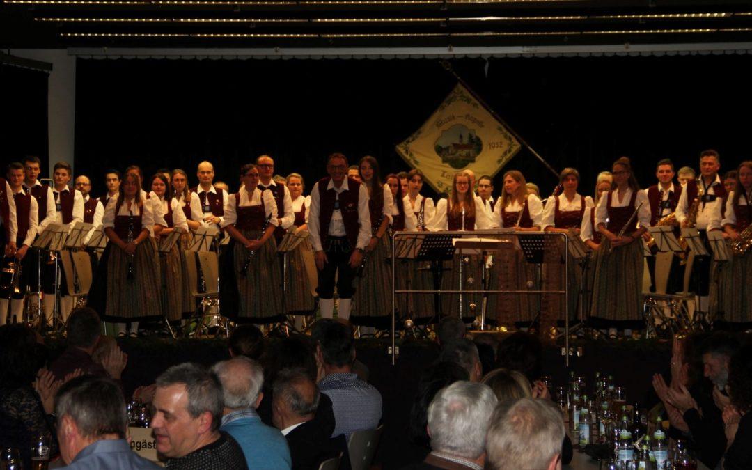 30-jähriges Dirigentenjubiläum beim Konzert des Musikverein Tannheim e.V.